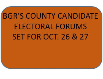 2016  CANDIDATE FORUMS